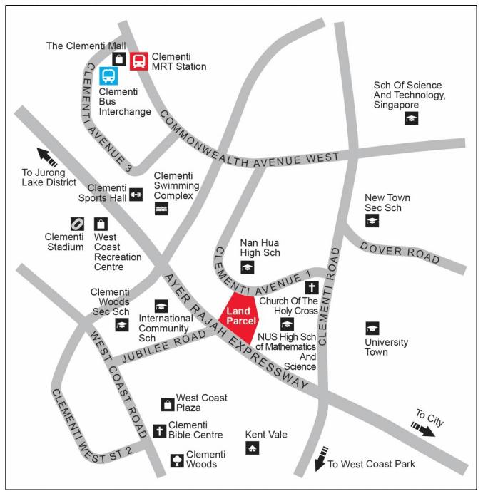 clavon-condo-location-map