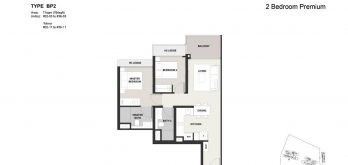 Clavon-2bed-Premium-Floor-Plan-Type-BP2