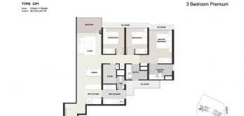 Clavon-3bed-Premium-Floor-Plan-Type-CP1