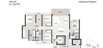 Clavon-4bed-Premium-Floor-Plan-Type-DP1