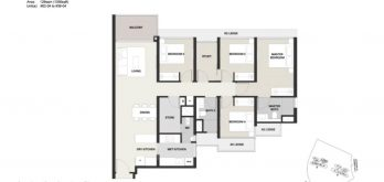 Clavon-4bed+Study-Floor-Plan-Type-D2