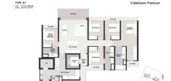 Clavon-5bed-Floor-Plan-Type-E1